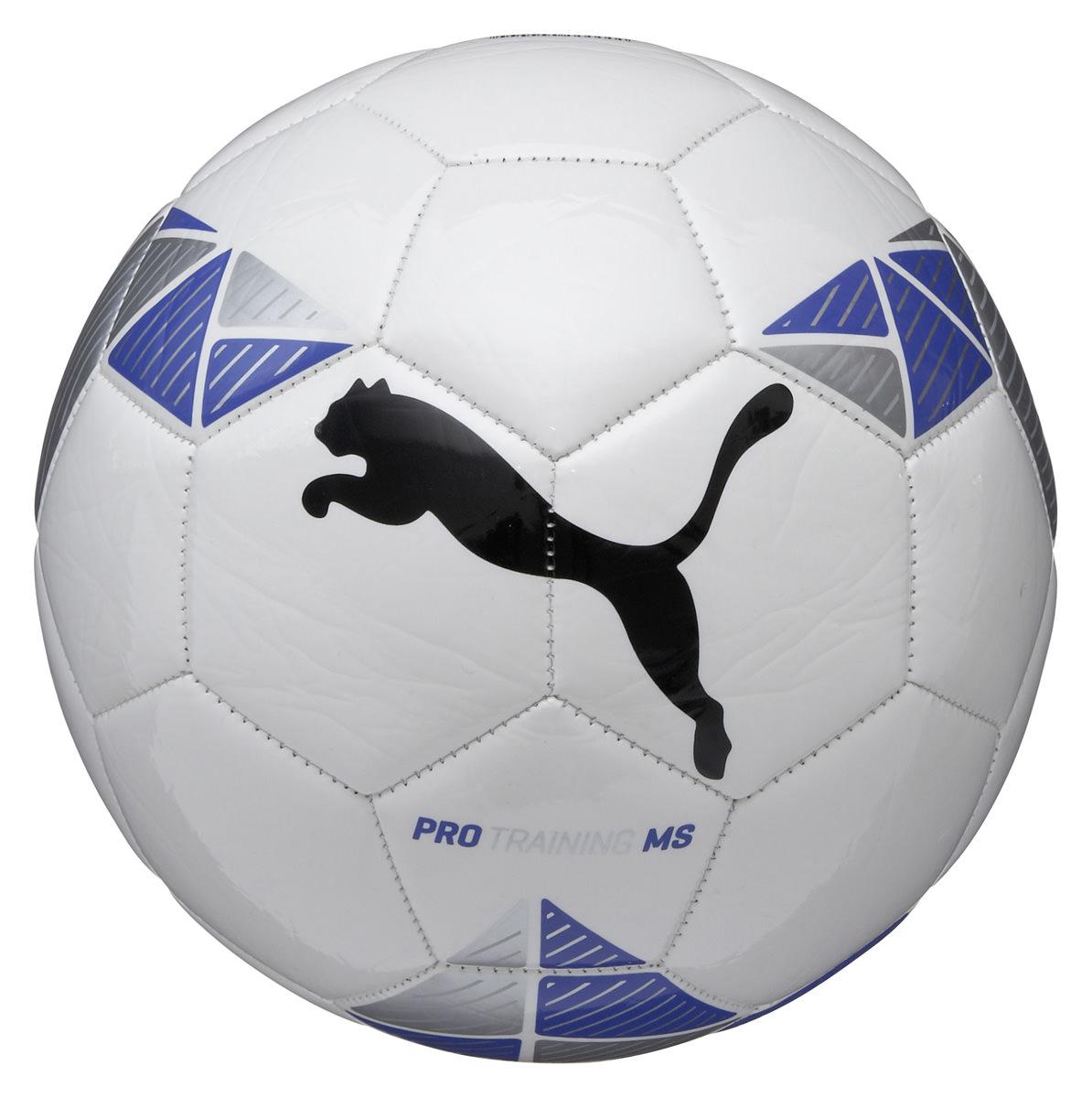Puma Pro Training MS Football - White-Blue