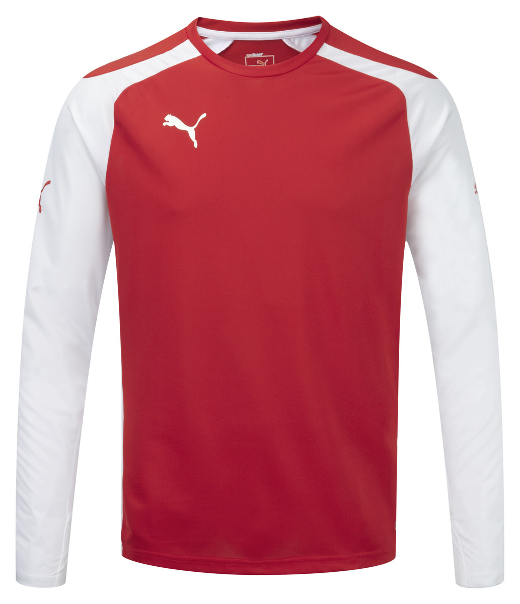 Puma Speed L/S Shirt - Red-White