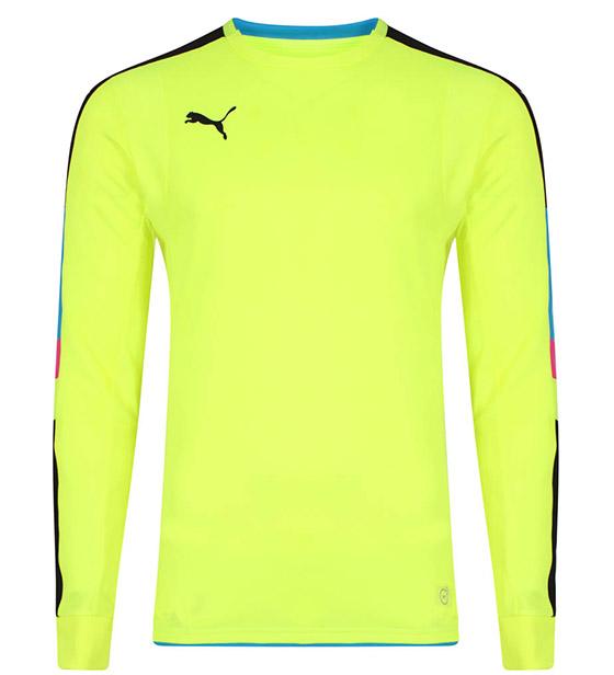 Puma Tournament GK Shirt - Yellow/Blue