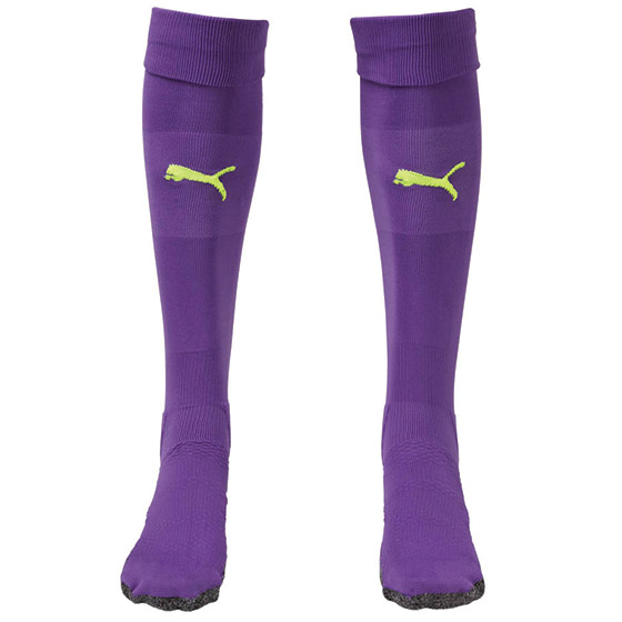 Puma Match Sock - Violet/Yellow