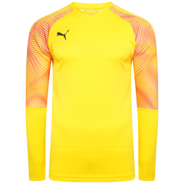 Puma Cup GK Jersey LS Cyber Yellow